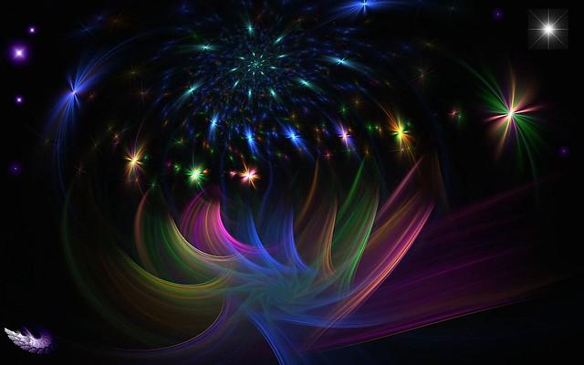 Обои свет, блеск, краски, сияние, линии картинки на рабочий стол, фото скачать бесплатно