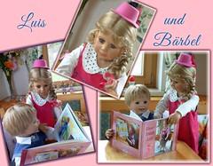Luis und Bärbel (ursula.valtiner) Tags: puppe doll luis bärbel künstlerpuppe masterpiecedoll buch book fotobuch photobook