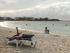 Late afternoon at the beach, Playa Pesquero. (Gerald Lau) Tags: holguin cuba 2019 hotelplayapesquero playapesquero beach relaxation