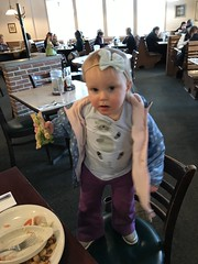 "Dani Eats Mommy's Sandwich at Egg Harbor • <a style=""font-size:0.8em;"" href=""http://www.flickr.com/photos/109120354@N07/46879728602/"" target=""_blank"">View on Flickr</a>"