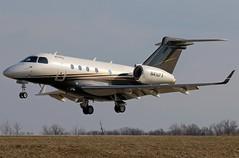 N416FX Embraer Legacy 450 at KCLE (GeorgeM757) Tags: n416fx kcle flexjet embraerlegacy450 bizjet georgem757 canon70d landing aircraft 6l