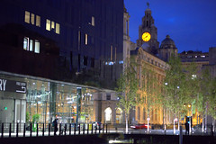 Liverpool building at night (Tony Worrall) Tags: liverpool merseyside scouse city dark night evening dusk architecture building built welovethenorth nw northwest north update place location uk england visit area attraction open stream tour country item greatbritain britain english british gb capture buy stock sell sale outside outdoors caught photo shoot shot picture captured ilobsterit instragram albertdocks docks