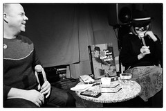 Brunhild Ferrari in conversation with David Grubbs @ Cafe Oto, London, 14th February 2019 (fabiolug) Tags: hat book microphone microphones brunhildferrari davidgrubbs conversation talk lucferrari lucferrarifestival stereospasmsfestival composer compositions cafeoto london dalston music gig performance concert live livemusic leicammonochrom mmonochrom monochrom leicamonochrom leica leicam rangefinder blackandwhite blackwhite bw monochrome biancoenero 35mmsummicronasph 35mmf2summicronasph summicronm35mmf2asph summicron35mmf2asph 35mm summicron leicasummicron leica35mm