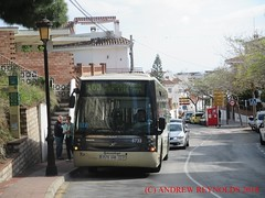 "2018031202 VOLVO SUNSUNDEGUI ASTRAL  BUS AVANZA PORTILLO BUS 5733 0576 GHB TOWN SERVICE M103 IN BENALMADINA (Andrew Reynolds transport view) Tags: europe spain andalucia transport bus coach transit passenger omnibus diesel ""mass transit"" 2018 031202 volvo sunsundegui astral avanza portillo 5733 0576 ghb town service m103 in benalmadina"
