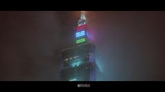 頂端 (solarliu) Tags: lantern festival light lighting installation art square people taiwan taipei taiwanese night silhouette 燈會 元宵 裝置藝術 燈光 台北 街道 人潮 street