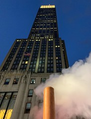 Empire State (Dalliance with Light (Andy Farmer)) Tags: steam city empirestatebuilding night