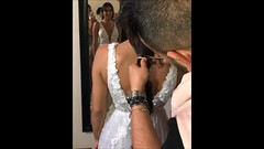 Bridecut_during (Haarfert) Tags: longhair shorthair chop braid ponytail rapunzel brunette makeover buzz buzzcut major wedding bride cute blonde shave hair long short pigtail