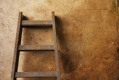 Ladder in Front of a Wall