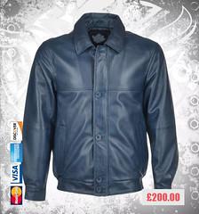 Davilson-Leather-Bomber-Jacket-Men (devilsondotcom) Tags: fashion leather jackets mens wear clothing motorcycle biker