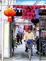 Alley, #Shanghai (Runen LIU) Tags: shanghai bicycle bike lane alley 上海