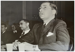 Md. communist refuses to answer HUAC questions: 1940 (Washington Area Spark) Tags: dr albert dorothy rose blumberg house un american activities committee huac refuse questions contempt conviction indictment congress 1940 communist party maryland district columbia dc