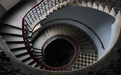 Spiral (Michal Zawolek) Tags: krakow kraków krakau krakov cracow cracovia poland polska polen stairs house indoor tenement handrail rail spiral