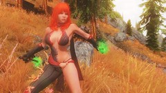 TESV - Battle in the wilderness (tend2it) Tags: kenb elder scrolls skyrim v rpg game pc screenshot screenarchery mods