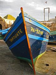 Blue Boat (Ellsasha) Tags: essaouira morocco moroc northafrica harbor harbour boats blueboats blue blues morninglight