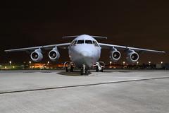 RAF BAe 146 C3 (nickchalloner) Tags: raf northolt nht egwu royal air force nightshoot night shoot xxvi ze707 bae british aerospace 146 c3 200 200qt 32 the squadron sqn
