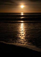 Sunrise (PeskyMesky) Tags: aberdeen aberdeenbeach sunrise sunset sun water sea ocean scotland landscape canon canon5d eos