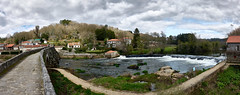 Ponte Maceira panorama 2019 (PacotePacote) Tags: caminodesantiago españa río panorama invierno coruña galicia peregrino caminodefinisterre camiñodefisterra pontemaceira