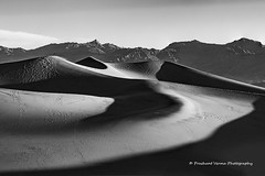 PV0_0177 (PrashantVerma) Tags: california deathvalley nationalpark prashantvermaphotography sand dunes blackandwhile bw morning light golden hour landscape canon 5d