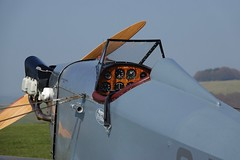 RX306790 (gosport_flyer) Tags: aeroplane aircraft laa light engine venturii opencockpit seatbeltbuckle harness instrument panel