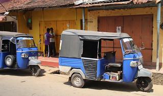 Blue Tuk-Tuks - Galle Sri Lanka
