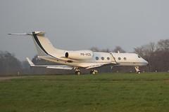 PR-VCO (IndiaEcho) Tags: prvco gulfstream g450 london biggin hill eglb bqh airport airfield light general civil aircraft aeroplane aviation canon eos 1000d kent bromley england