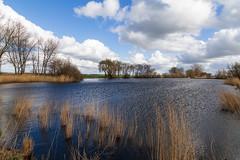 A strong wind over the lake (jan.vd.wolf) Tags: cloud clouds eempolder landschap landscpape polder thenetherlands wolken baarn utrecht nederland nl