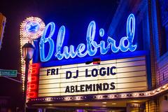 Mr. Bluebird's on My Shoulder (Thomas Hawk) Tags: ableminds bluebird bluebirdtheater colorado djlogic denver neon theater fav10 fav25