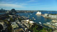 Australia, Sydney Opera House & Harbour Bridge (Cecilia Temperli) Tags: australia nsw newsouthwales sydney sydneyoperahouse barangaroo sydneyharbourbridge dawespoint therocks sydneyharbour portjackson panasoniclumixlx7 circularquay