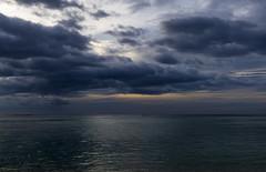 The sky before the storm / Небо перед грозой (dmilokt) Tags: природа nature небо облако sky cloud море океан sea ocean голубой blue dmilokt