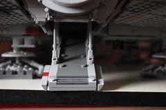 Front (KirtonBricks) Tags: technic brick lego millennium falcon 75192 mod moc kirton star wars han solo