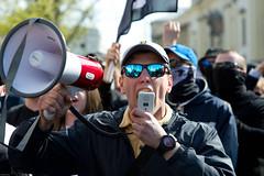 (Aleksander Kalka Photographiti) Tags: warsaw warszawa varsavia warschau demonstration manifestazione demonstracja antifascisti antifascist antifa antyfaszysci fascist nationalists nationalist nazionalisti poland polska polonia polen far right skrajna prawica estrema destra marxist photojournalism fotogiornalismo fotoreportaz reportage photoreportage nikon d3s nikkor