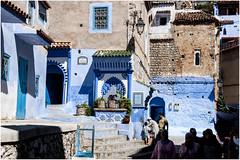 573- ARCOS PUERTAS Y VENTANAS - XAUEN - MARRUCEOS - (--MARCO POLO--) Tags: ciudades calles exotismo marruecos curiosidades arquitectura