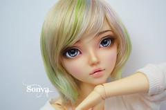 DSC_2138 (sonya_wig) Tags: fairytreewigs wig bjdwig minifeewig bjd bjdminifee minifeechloe handmadedoll bjddoll dollphoto fairyland fairylandminifee minifee chloe bjdphotographycoloringhair