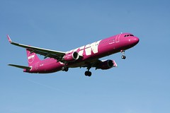 TF-JOY (IndiaEcho) Tags: tfjoy wow air airbus a321 london gatwick egkk lgw airport airfield civil aircraft aeroplane aviation airliner crawley west sussex england canon eos 1000d