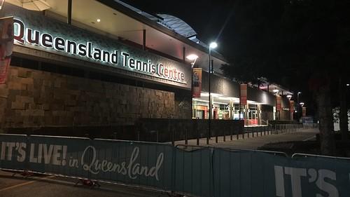 Brisbane International Tennis Tournament, Pat Rafter Arena, Queensland, Australia