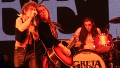 Greta Van Fleet - Josh Kiszka, Jake Kiszka, Sam Kiszka & Danny Wagner (Peter Hutchins) Tags: kroq almost acoustic christmas 2018 kroqalmostacousticchristmas2018 theforum inglewood ca josh kiszka jake sam danny wagner gretavanfleet joshkiszka jakekiszka samkiszka dannywagner greta van fleet