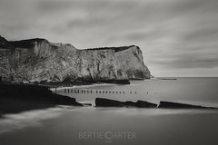 Seaford cliffs (bertie.carter.photography) Tags: breathtakinglandscapes cliffs slowshutter sea monochrome blackandwhite seascape seaford eastsussex absoluteblackandwhite