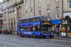 10895 SN67WUW Stagecoach Bluebird (busmanscotland) Tags: 10895 sn67wuw stagecoach bluebird sn67 wuw ad adl alexander dennis enviro400 mmc