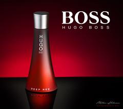 Hugo Boss - Deep Red (MikeHolman) Tags: hugoboss deepred perfume bottle productphotography nikon d7200