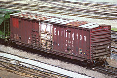 CB&Q Class XM-4B 49154 (Chuck Zeiler54) Tags: cbq class xm4b 49154 burlington railroad boxcar box car freight cicero train chuckzeiler chz