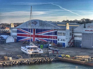 Iconic Wight Shipyard, lots of history. #iow @VisitIOW @VisitIsleofWight @IsleofWight #pureislandhappiness