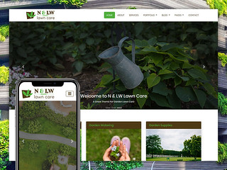 Lawn Care – Landscaping Bootstrap4 HTML5 Responsive Template