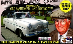 Dapper Chap In A Tweed Cap 2019  Part 12 (Save The Last Ocean) Tags: vintagecarclub vintagecar oldschool retro man fashion poster sign outdoor distinguished gentlemans cap tweed wearing car nz kiwi older oldman granpa classic auto vehicles cavalrytwilltrousers rally show club menswear scottish houndstooth uk british woven yorkshire 2019 nokia headlight art blazer plaid auckland hamilton rotorua tauranga gisbourne napier hastings wellington nelson christchurch dunedin invercargill city tweedcap tweedjacket citycouncil newplymouth whanganui wanganui rockandhop parked road street tweedjacketphotos ford mk1 zephyr zodiac sedan saloon manwearingtweedjacket menstweedjacket ride run dapper