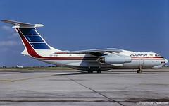 CU-C1419 / ? 08.2001 (propfreak) Tags: propfreak propfreakcollection cuc1419 ilyushin il76md cubana il76 eribe aerocom d2fco slidescan