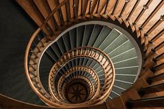 Wooden beauty (michael_hamburg69) Tags: hamburg germany deutschland treppe stairs wood wooden wendeltreppe heraldik stern star windrose hoheluftchaussee108 photowalkmitkatrin