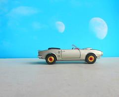 Corgi Toys No. 343 Pontiac Firebird 1969 With Red Spot Wheels : Diorama Futuristic Double Moon - 13 Of 13 (Kelvin64) Tags: corgi toys no 343 pontiac firebird 1969 with red spot wheels diorama futuristic double moon