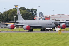 57-1441 KC-135R USAF Prestwick 05.09.17 (Robert Banks 1) Tags: 571441 71441 boeing kc135r kc135 k35r usaf united states air force prestwick egpk pik 185 174 arw ars sioux city iowa ang