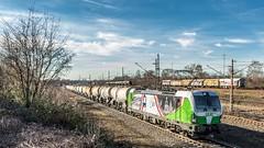 10_2019_02_14_Gelsenkirchen_Bismarck_6193_219_ELOC_SETG_mit_Kesselwagenzug ➡️ Herne_Abzw_Crange (ruhrpott.sprinter) Tags: ruhrpott sprinter deutschland germany allmangne nrw ruhrgebiet gelsenkirchen lokomotive locomotives eisenbahn railroad rail zug train reisezug passenger güter cargo freight fret bismarck db ccw de efm eh eloc hctor rpool pkpc spag 323 0077 0275 0632 1225 1265 1266 1275 3294 6145 6156 6185 6186 6189 6241 9123 9124 captrain ecr ell hectorrail lotos setg spitzke museumszug schrottzug logo natur outdoor graffiti wildgänse flugzeug sonnenuntergang airbus 380