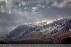 Derwentwater (Zorro Photography) Tags: england outdoor catbells blizzard snow mountain cumbria lakedistrict keswick derwentwater