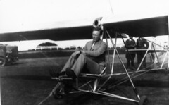 aviation related people image (San Diego Air & Space Museum Archives) Tags: aviation aviator charlesalindbergh charleslindbergh lindbergh